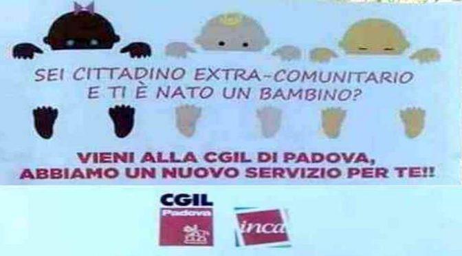 """Cgil distribuisce soldi degli italiani agli immigrati: """"Abbiamo un nuovo servizio"""""""
