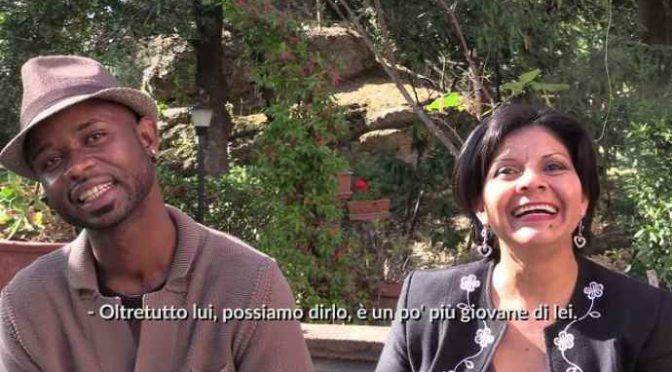 Siena, Zittella sposa giovane profugo africano – VIDEO