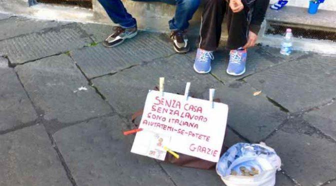 """Italiana disoccupata e senza casa: """"Le danno solo a migranti"""""""