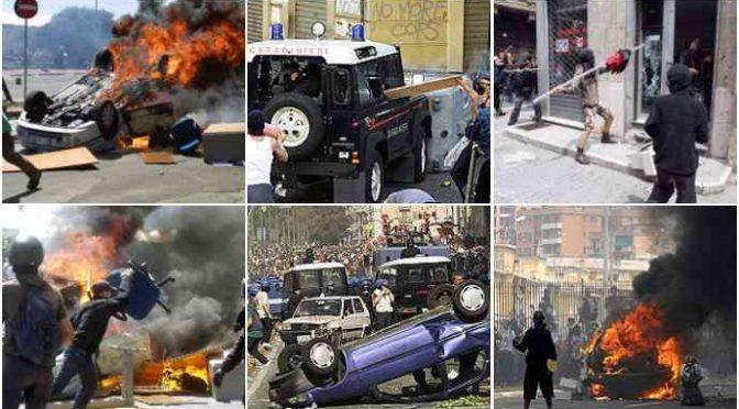 Dovremo risarcire i devastatori di Genova: 100mila euro a testa