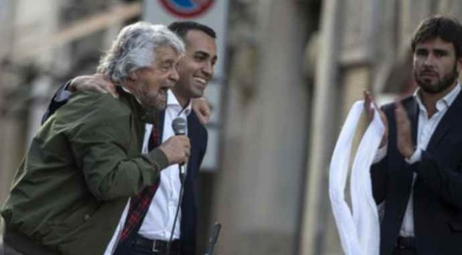 "M5S, Di Battista non chiarisce: ""Governo con chi ci sta"" – VIDEO"