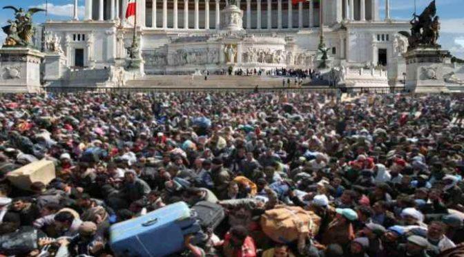 Ue invia in Italia 500 profughi: 4 milioni per mantenerli