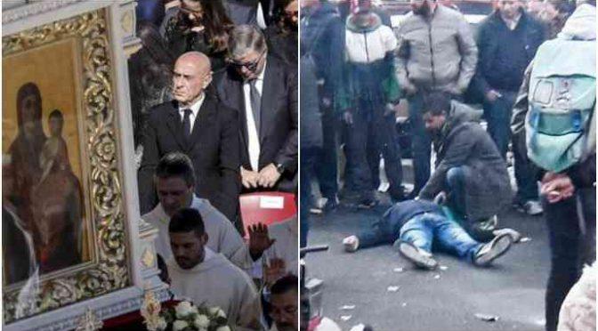 Mentre Maurizio moriva, Minniti leccava Bergoglio in piazza San Pietro