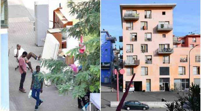 Torino: primi alloggi nuovi per gli spacciatori e abusivi ex-Moi