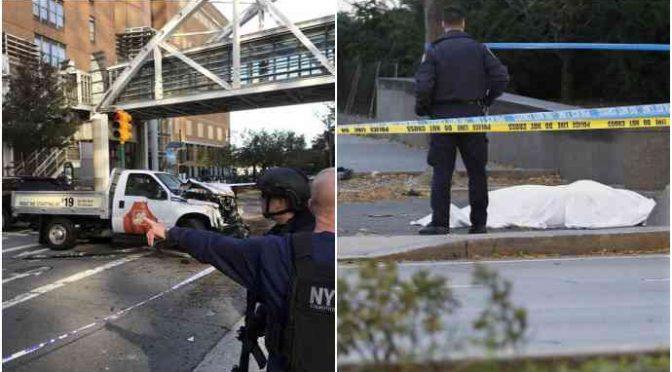 """NY: TERRORISTA HA URLATO """"ALLAHU AKBAR"""", ECCOLO – VIDEO"""