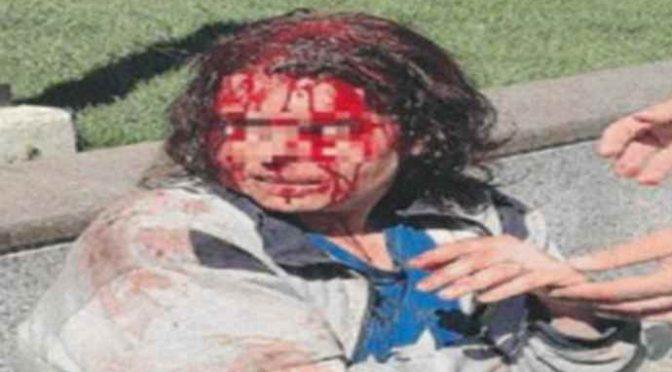 Trova la moglie italiana fuori casa, Islamico la massacra di botte per strada