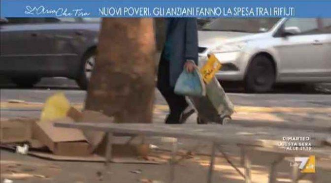 Loro digiunano per Ius Soli, Italiani fanno la spesa tra rifiuti – VIDEO CHOC