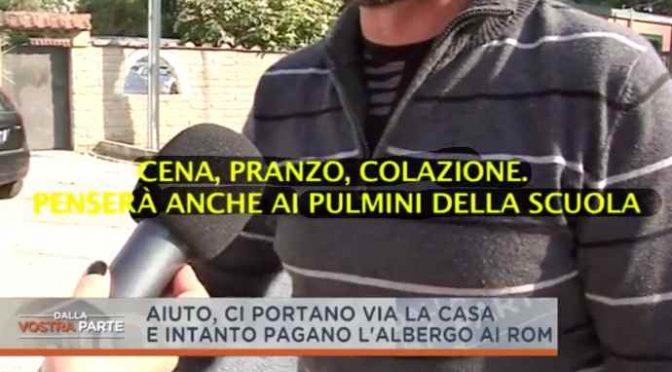 """Rom esultano: """"Raggi ci pagherà tutto, pensione completa"""" – VIDEO"""