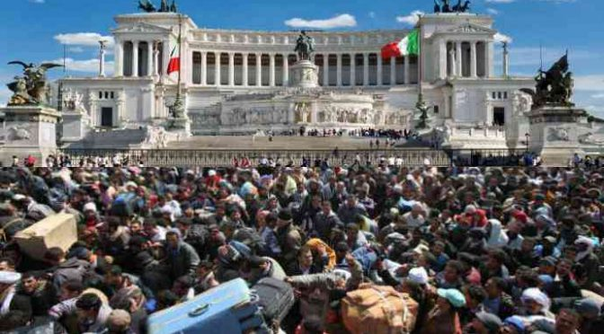 """""""Esigo di fare sesso con te"""", migrante violenta turista a Roma"""