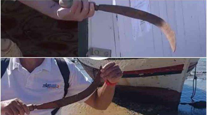 Detenuti tunisini sbarcano armati di machete e in diretta tv, nessuno li ferma