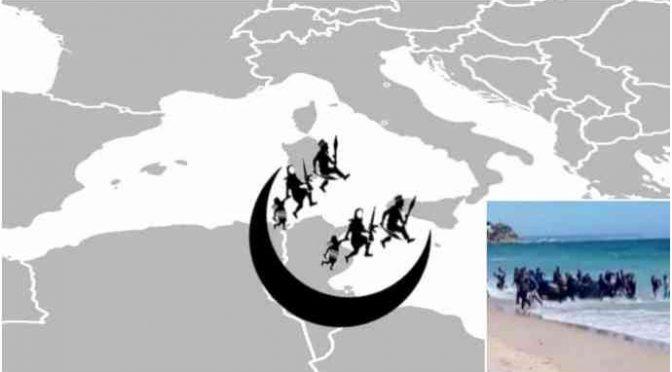 La tenaglia islamica sull'Italia: è invasione organizzata