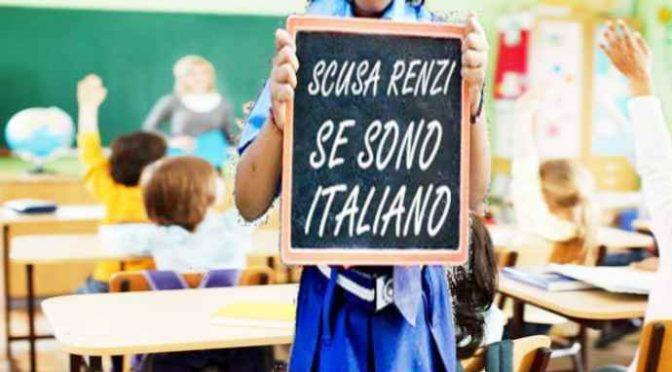 In classe ci sono solo Italiani, il PD la vuole chiudere