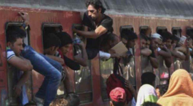Immigrati assaltano treno per Lourdes, paura malati a bordo