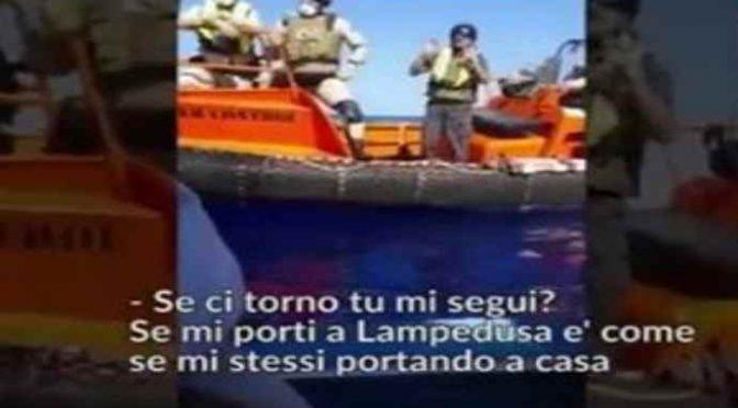 """Clandestini rifiutano soccorso: """"Lampedusa è fuori mano"""" – VIDEO"""