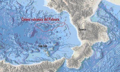 Nel Mar Tirreno scoperti 15 vulcani sommersi