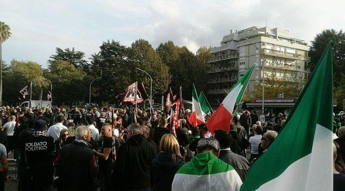 Forza Nuova marcia su Roma – DIRETTA VIDEO