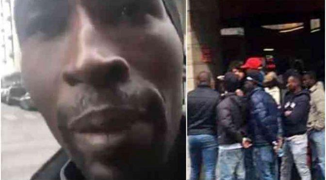 """Profughi furiosi a Vicenza: """"Basta cibo, vogliamo i soldi contanti"""" – VIDEO"""