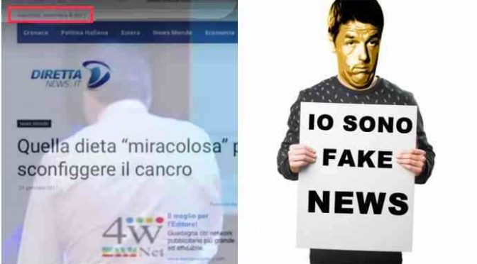 Video incastra Renzi, lui dietro articolo BuzzFeed (guardate la data)