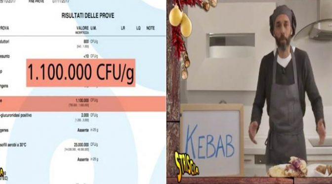 Kebab ripieni di batteri fecali a Milano – VIDEO