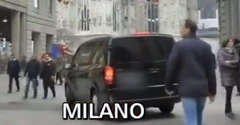 """Staffelli buca barriere anti-terrorismo Milano, Sindaco: """"Però ogni volta è stato multato"""" – VIDEO"""