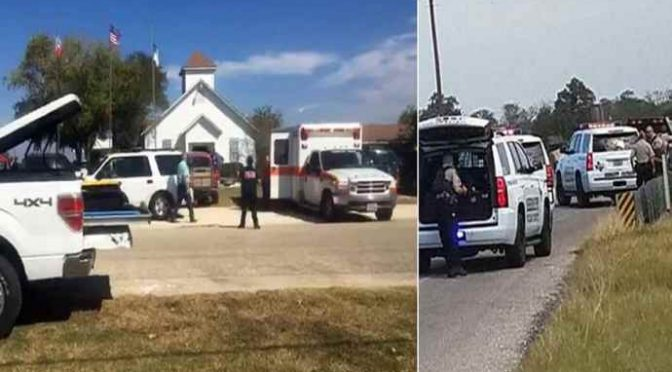TEXAS, IRROMPE IN CHIESA E FA STRAGE: 27 MORTI – VIDEO