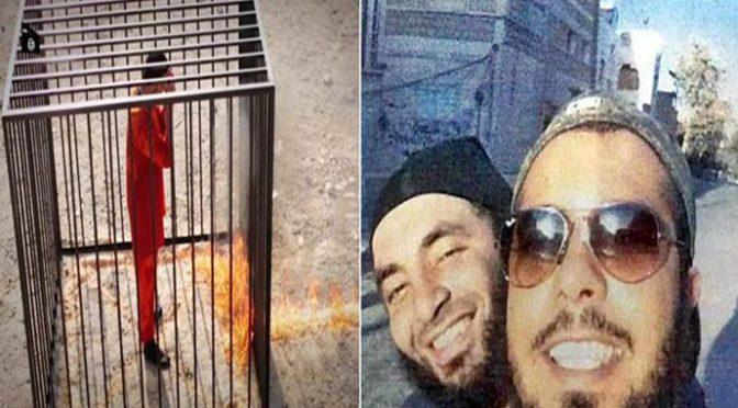 Torino: borse di studio ai boia di ISIS, selfie con chi bruciò vivo pilota giordano