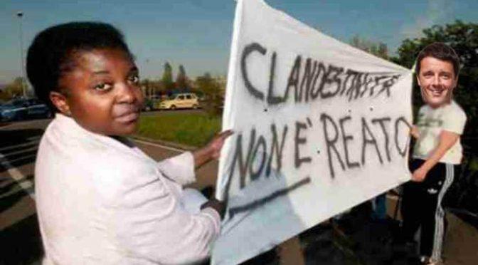 Il sindaco: «Clandestini sono feccia dell'umanità»