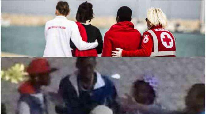 Decine migranti ospiti Croce Rossa spacciano davanti scuola elementare