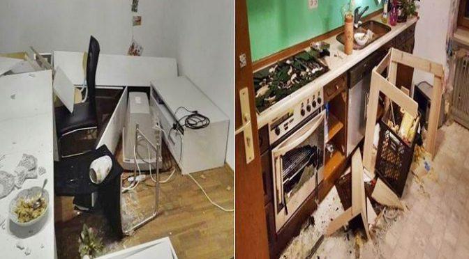 Profugo devasta centro di accoglienza, italiani pagano i danni