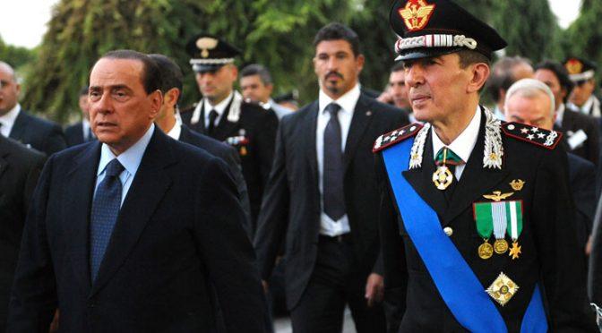 """Berlusconi: """"Un Generale a Palazzo Chigi"""""""