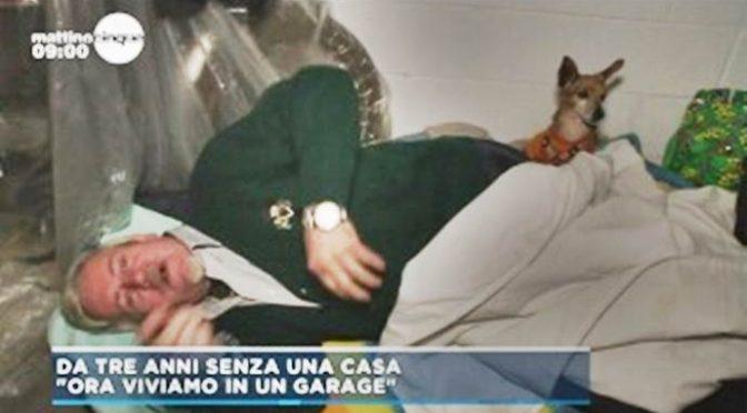 Anziani italiani vivono in garage nella città dell'accoglienza ai migranti – VIDEO
