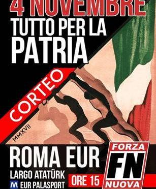 Domani Forza Nuova marcia su Roma