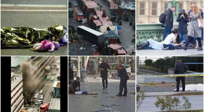 Da Nizza a New York, camion islamici contro folla: 119 morti di integrazione