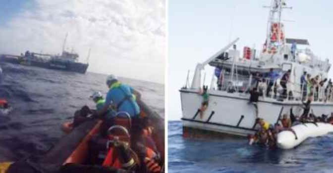 Libia, affondano barconi: squali arrivano prima di Guardia Costiera