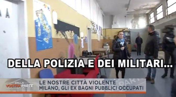 """Clandestini occupano: """"Me ne frego della Polizia"""" – VIDEO"""