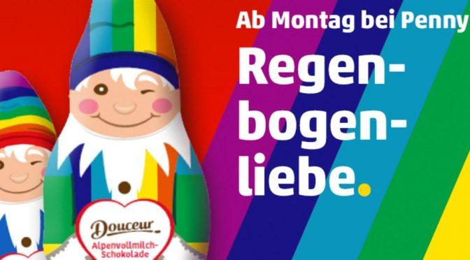 Quest'anno Babbo Natale gay nei supermercati tedeschi