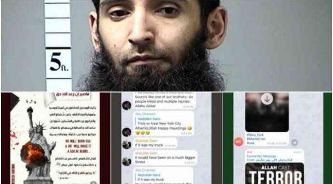 """Ny, il migrante islamico: """"Ho agito per ISIS"""", musulmani esultano sul web"""