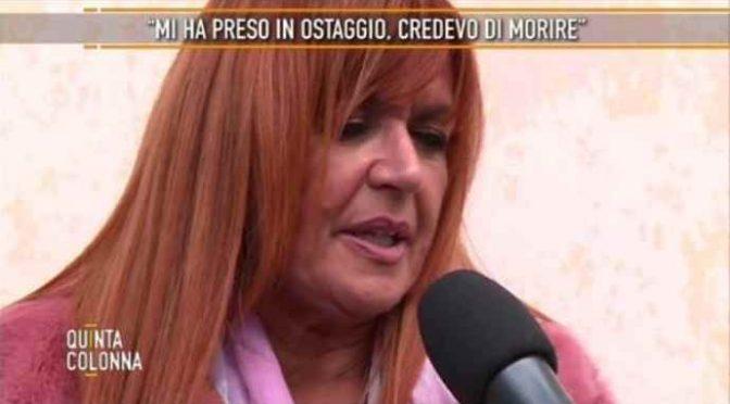 Donna ostaggio di migrante uscito da manicomio – VIDEO
