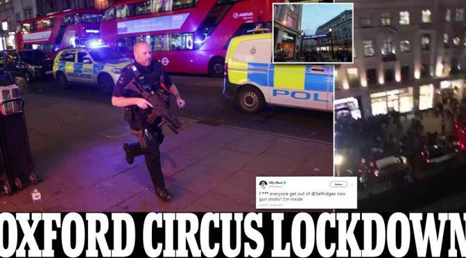 LONDRA: PANICO ALLO SHOPPING DI NATALE, POLIZIA SMENTISCE ATTACCO – VIDEO DIRETTA