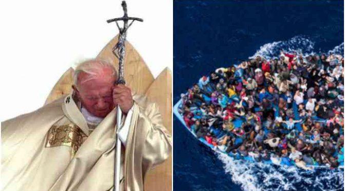 """La profezia di Giovanni Paolo II: """"Islam invaderà l'Europa, partiranno dalla Libia"""" – VIDEO"""