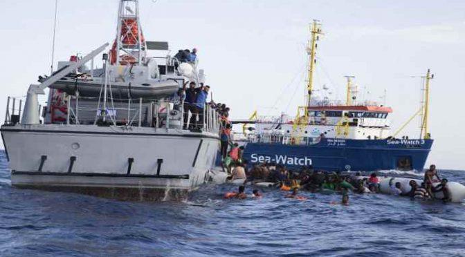 Libia: Ong fa affogare 5 clandestini tentando di sottrarli a Marina libica