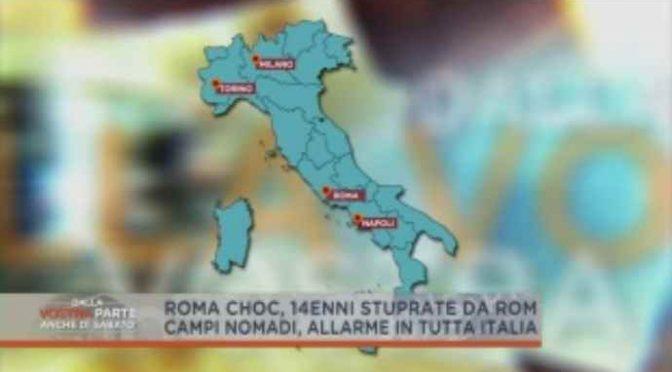 Stupri e fumi tossici, è allarme Zingari in tutta Italia – VIDEO