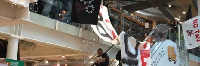 Milano, blitz e proteste contro locale Eataly