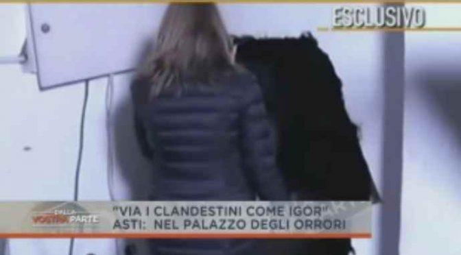 Il palazzo occupato dove gli africani stuprano le ragazze italiane – VIDEO