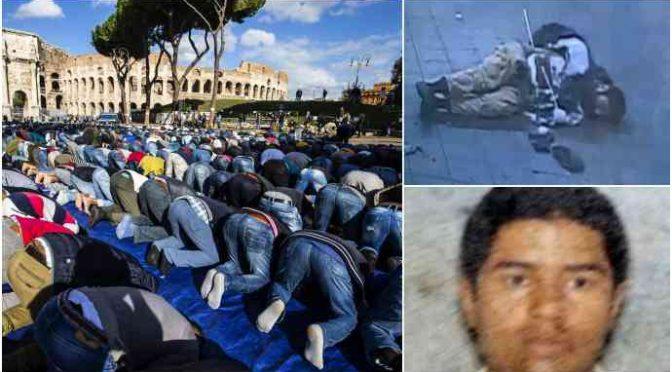 Bengalese tenta strage a NY: in Italia li accogliamo come profughi e pregano al Colosseo