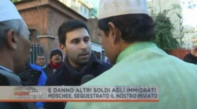 Roma, giornalista sequestrato in quartiere islamico: riaprono moschee abusiva – VIDEO
