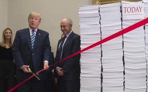 Trump taglia imposte e neolingua: via trans e tasse