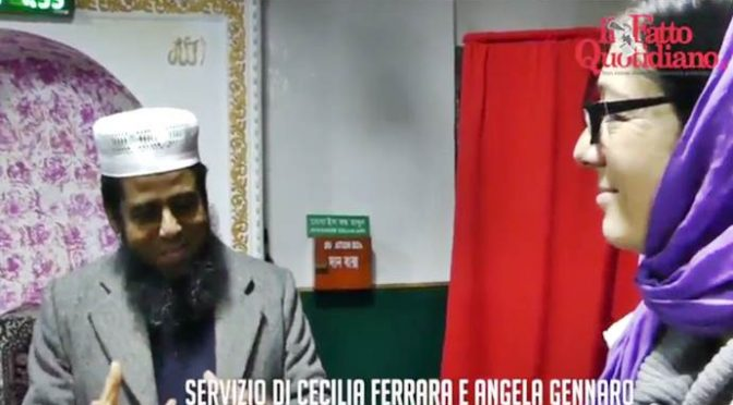 """Roma, Musulmani: """"Siamo tanti, questo ora è il nostro Paese"""" – VIDEO"""