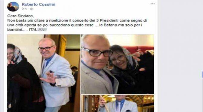 Befana porta regali ai bambini italiani poveri, PD protesta