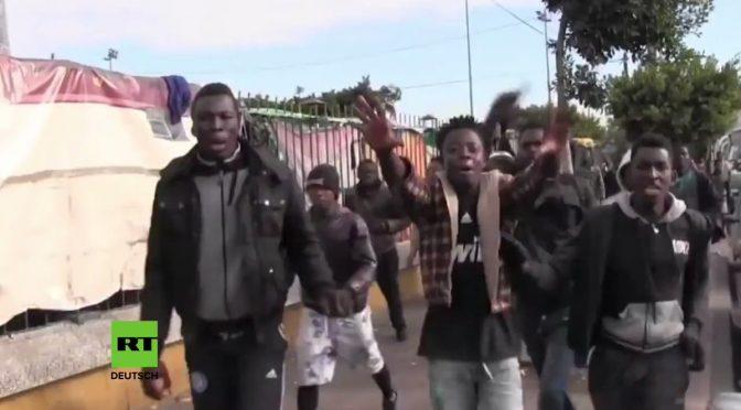 Scontri in Marocco tra immigrati africani e marocchini – VIDEO